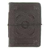 "Embossed Leather Journal - 3 1/4"" x 5"""